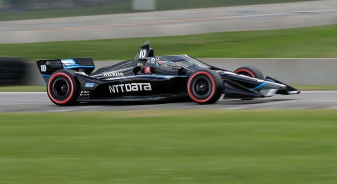 Felix Rosenqvist won Sunday in the REV Group Grand Prix doubleheader, capping the first weekend for IndyCar this season at which fans were permitted.