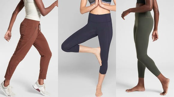 Love athleisure wear? Athleta's massive Semi-Annual Sale is loaded with deals on leggings, sports bras and more.