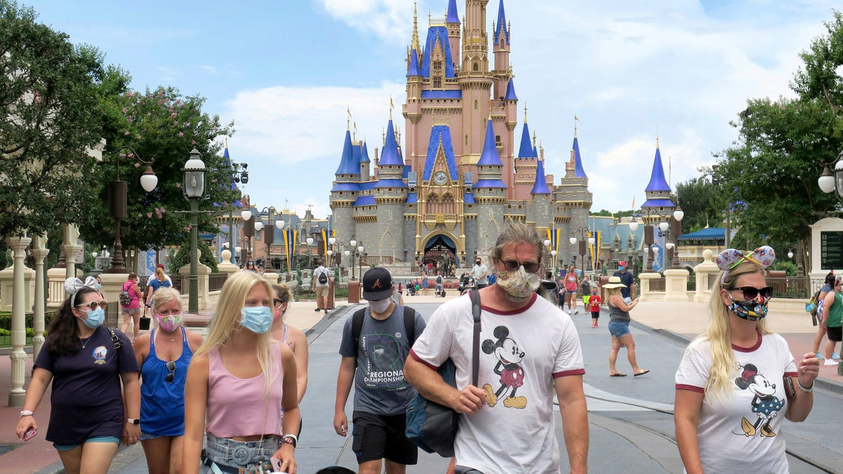 Disney parks to lay off 28,000 workers in...