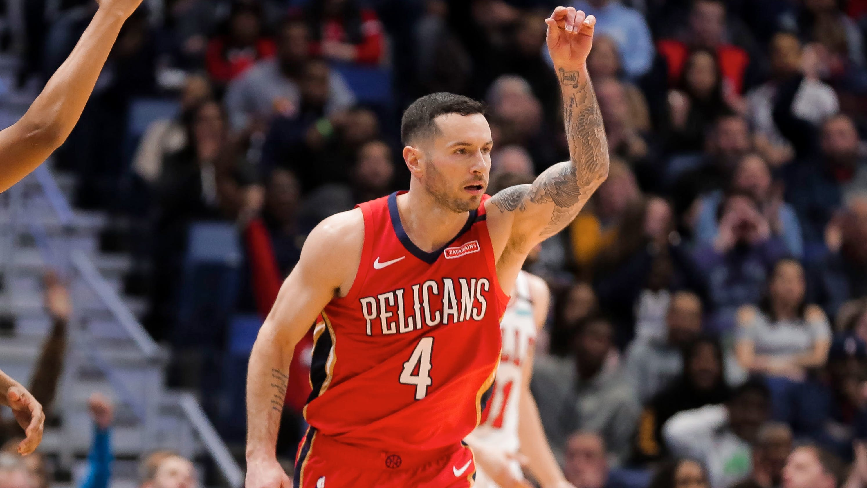 'How did I end up with this?' Pelicans' JJ Redick gets sarcastic about reunion with coach Stan Van Gundy