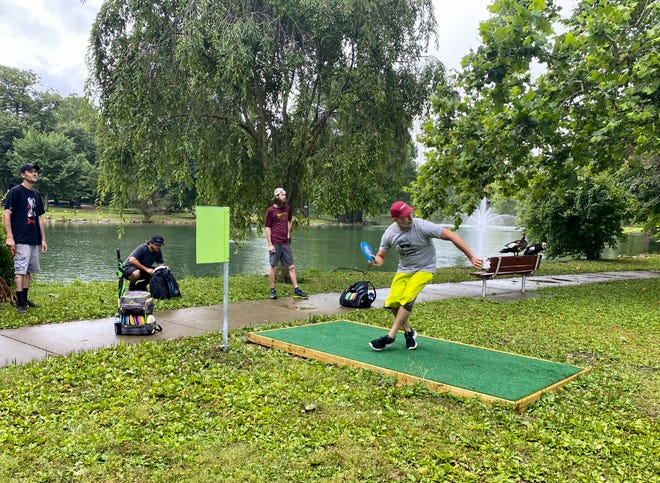 On Sunday, July 12, just over 50 people gathered for the grand opening ceremony of the new Yoctangee Park disc golf course and inaugural Project Bad Apple Classic. The event was the first tournament to be hosted by the nonprofit organization that worked to set up the course.