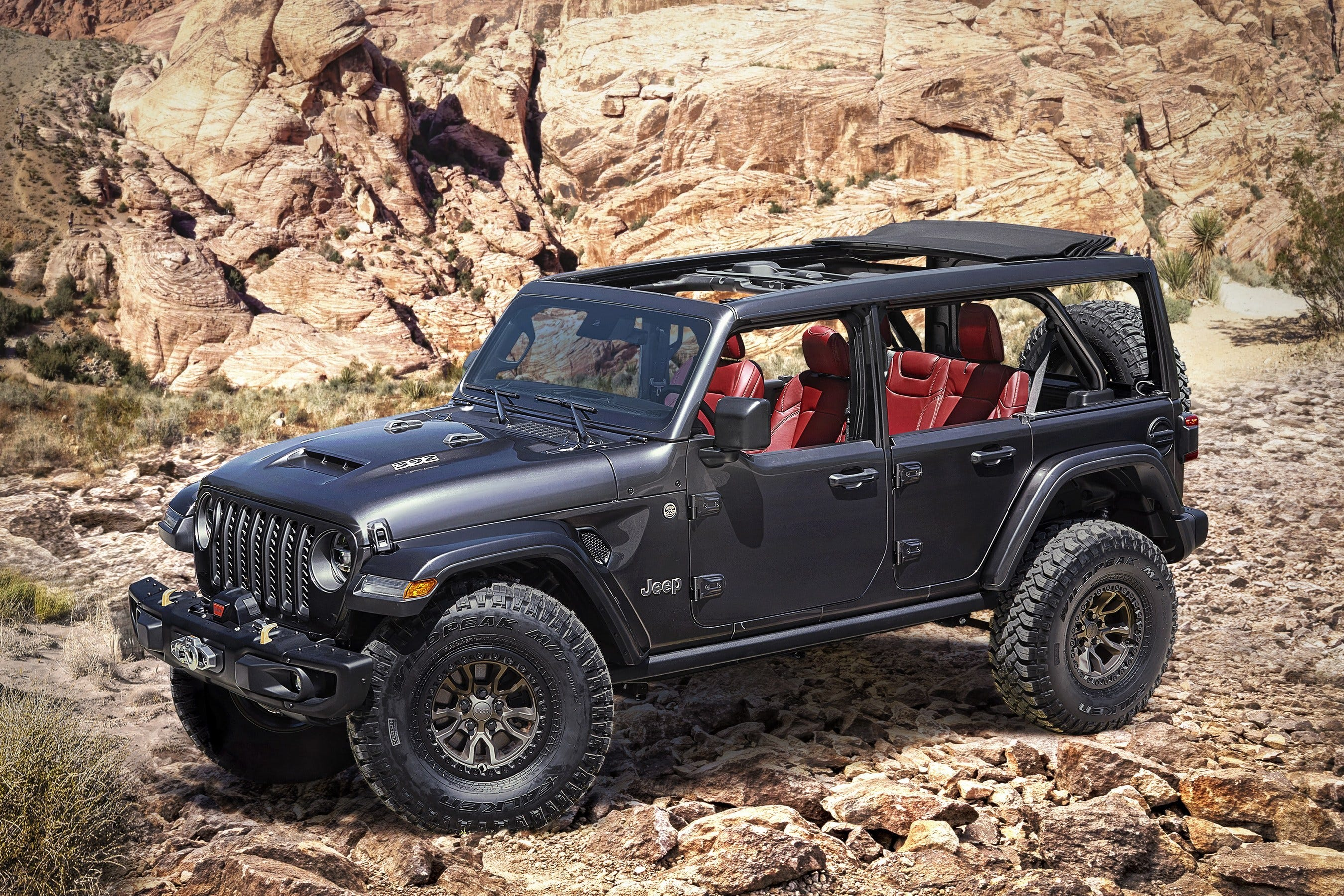 2021 The Jeep Wrangler Overview