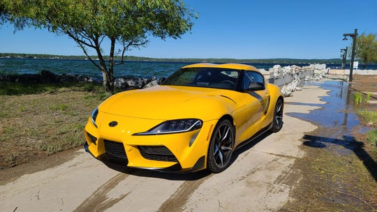 The water was high in northern Michigan — and so was enthusiasm for the Toyota GR Supra.