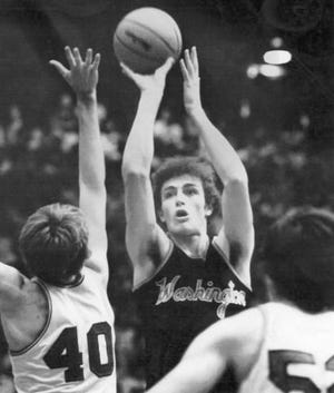 Steve Bouchie during his playing days at Washington High School.