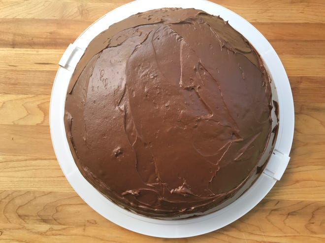 "Hershey's ""Perfectly Chocolate"" Chocolate Cake lives up to its name."