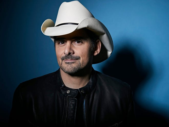 Brad Paisley headlined the last night of three parking lot concerts at Ruoff Music Center.