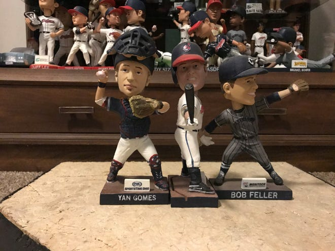 The 2016 Cleveland Indians bobblehead giveaways included Yan Gomes, Jim Thome and Bob Feller.