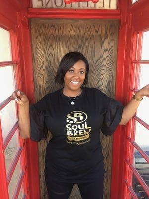 Alesia Miller is founder/owner of Soul Brew Kombucha.