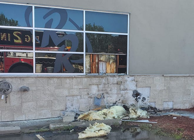 Several dozen people had to be evacuated from the Red Robin restaurant, 7575 W. Edgerton Ave., Greenfield, on Sunday, July 12, after smoke was discovered inside the building and flames were seen near an outside wall.