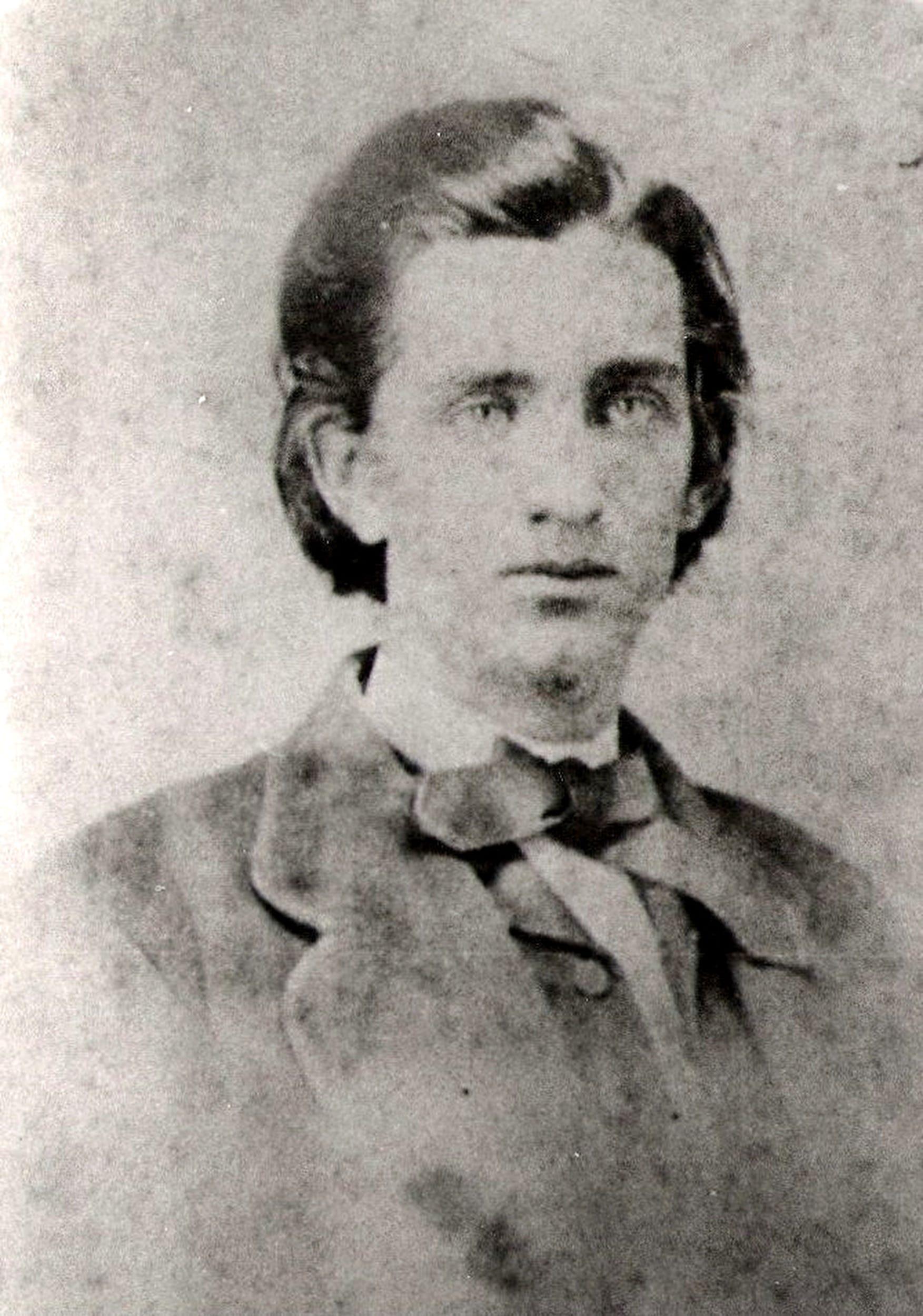 Old portrait of Sam Davis