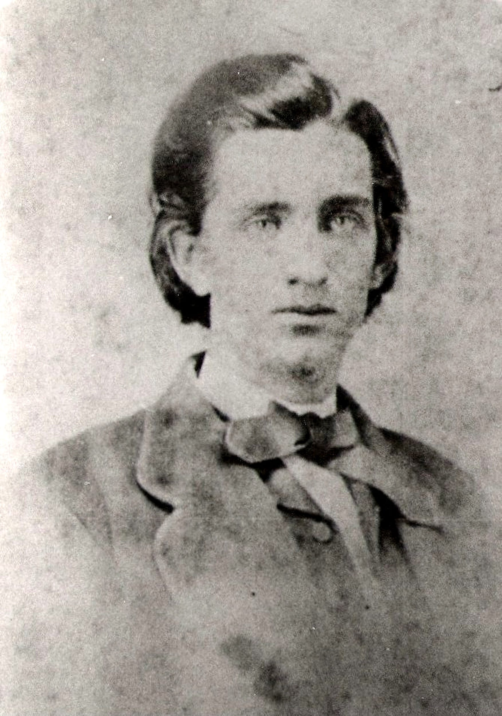 Old portrait of Sam Davis