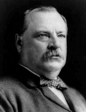 Grover Cleveland, the 22nd and 24th President of the United States, visited Richmond on Oct. 1, 1887.