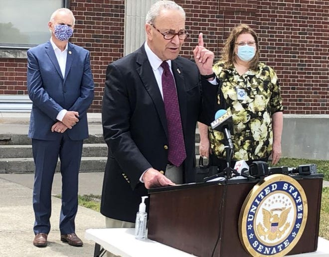 Schumer said the federal government bears responsibility to ensure schools get what they need to open and operate safely.