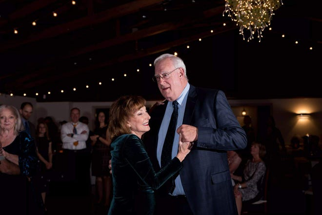 Longtime journalist and Virginia native Jane Gardner — pictured above with husband Gary — is mourned by many in the wake of her death by cancer Saturday night, July 11, 2020.