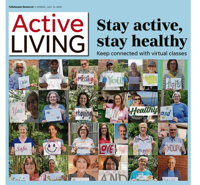 Cover of Active Living magazine, July 2020.