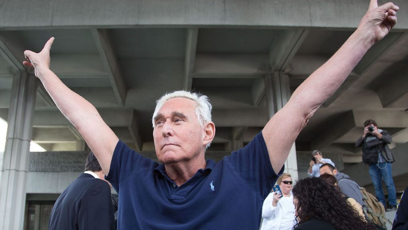 Trump's clemency for Roger Stone is an admission of the president's guilt in Russia probe