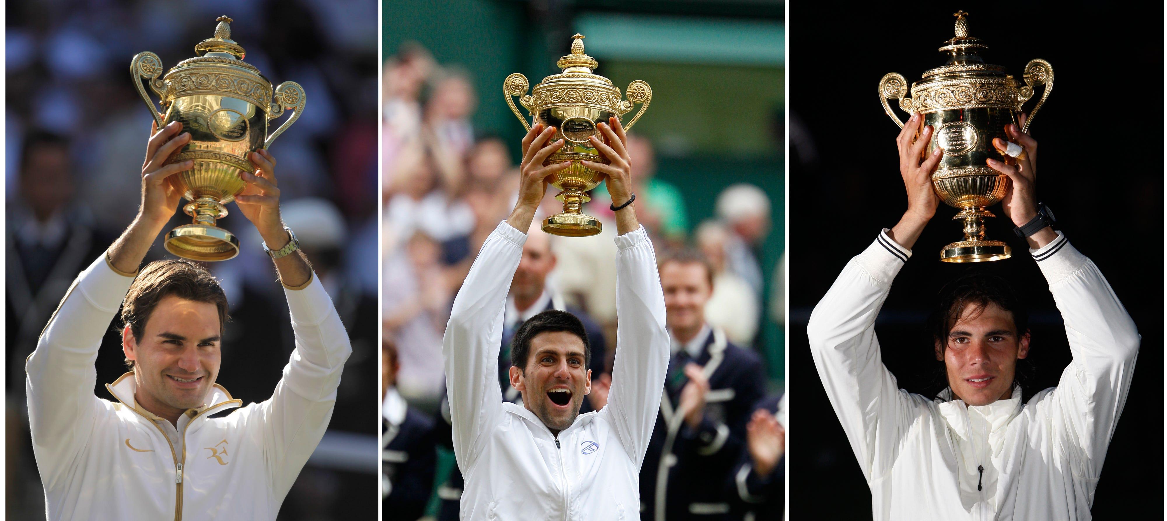 Roger Federer Rafael Nadal Novak Djokovic Who Is Men S Tennis Goat