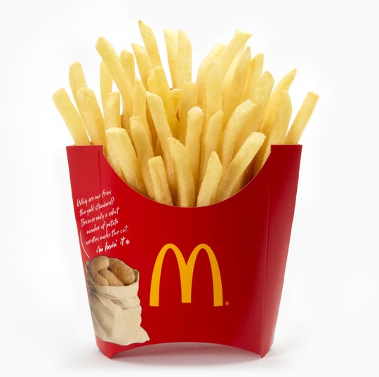 McDonald's is giving away free fries July 13.