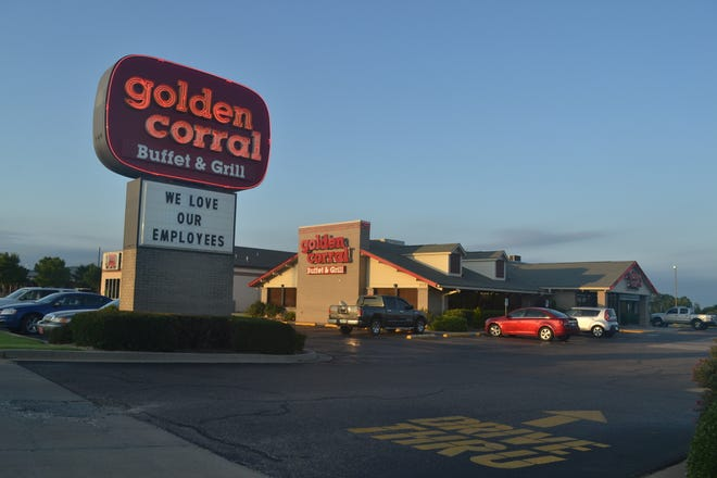 Shawnee's Golden Corral is shutting down because of the pandemic.