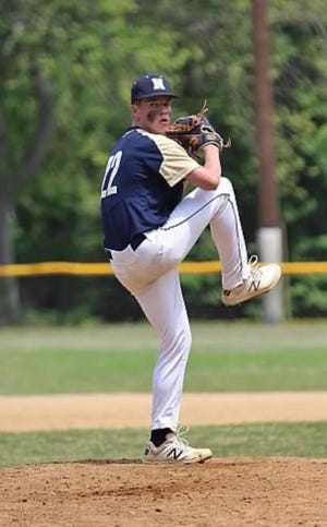 Jake Lanzer of Newburgh Free Academy has made a verbal commitment to pitch for St. John's University. MANDY CLIFFORD/photo provided