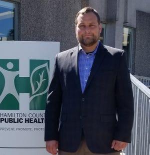 Hamilton County Health Commissioner Greg Kesterman stands outside the Hamilton County Public Health department. Photo provided.