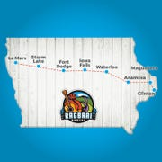 Can you guess all of the meeting towns for RAGBRAI XLVIII?