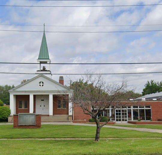 Al Ihsaan Islamic Center in Warren, on 4345 E. 10 Mile Rd, formerly the Lutheran Church