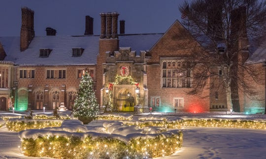 Meadow Brook Hall in Rochester is adding a new Winter Wonder Lights display this November.
