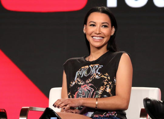 "In this Jan. 13, 2018, file photo, Naya Rivera participates in the ""Step Up: High Water"" panel during the YouTube Television Critics Association Winter Press Tour in Pasadena, Calif."