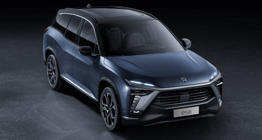 NIO's flagship smart electric SUV the ES8 has more than 20 advanced driver assistance features and supports software over-the-air updates.