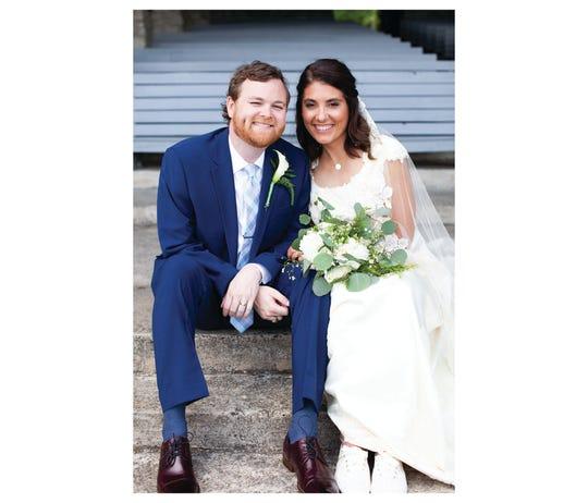 Caroline Reynolds and Greg Aiken