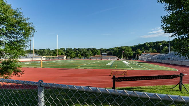 The stadium at Hart Park in Wauwatosa will host Forward Madison FC, a Madison-based soccer club, this summer.