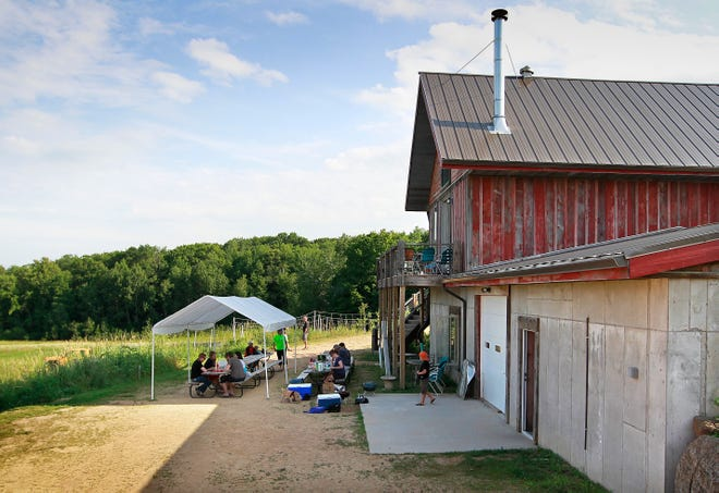 Dave's BrewFarm in Wilson is closed. The brewery on 35 acres is for sale.