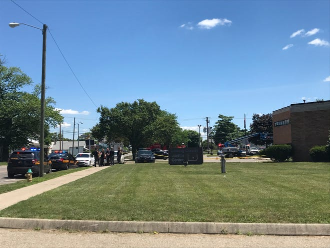 Columbus Fire Bomb Squad was called to the Licking County Sheriff's Office on Tuesday, July 14, 2020.