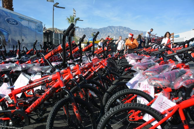 To date, Variety – the Children's Charity of the Desert has awarded youth more than 7,237 bikes.