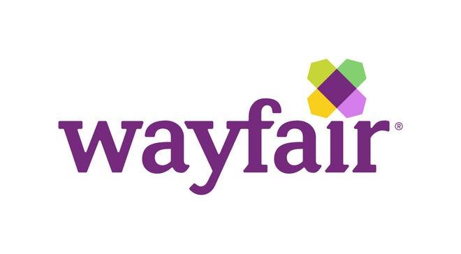 Online furnishing retailer Wayfair.com's logo.