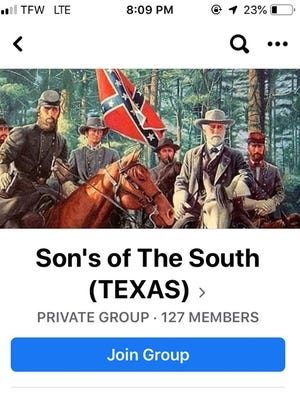A new whites only group for Wichitans appeared on social media for about a week.