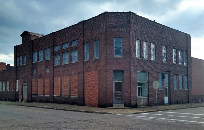 The building that once housed the Baker Break Company
