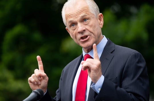 Peter Navarro, an assistant to President Trump, is the director of the Office of Trade and Manufacturing Policy.