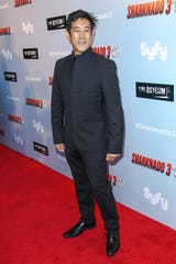 """Grant Imahara attends the """"Sharknado 3: Oh Hell No!"""" premiere at iPic Theaters Westwood on Wednesday, July 22, 2015 in Los Angeles."""