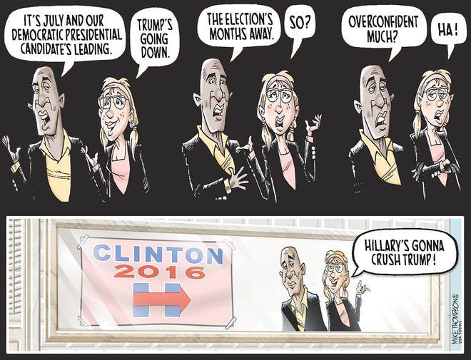 Mike Thompson editorial cartoon