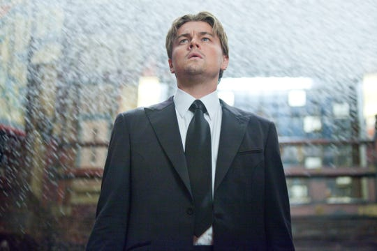 """Leonardo DiCaprio stars as a thief who steals from people's dreams in Christopher Nolan's mind-bending action thriller """"Inception."""""""