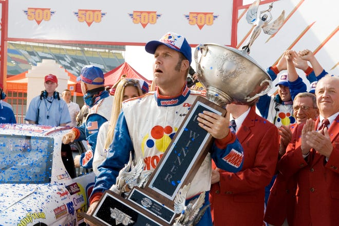"""Talladega Nights: The Ballad of Ricky Bobby"" was filmed during actual races at Charlotte Speedway and at other tracks around the state."