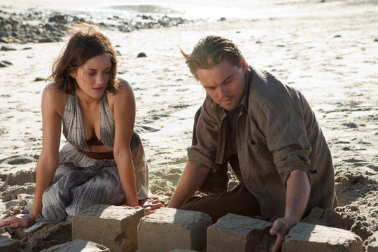 """Mal (Marion Cotillard) and Cobb (Leonardo DiCaprio) built an entire city in a Limbo of dream subconsciousness in """"Inception."""""""