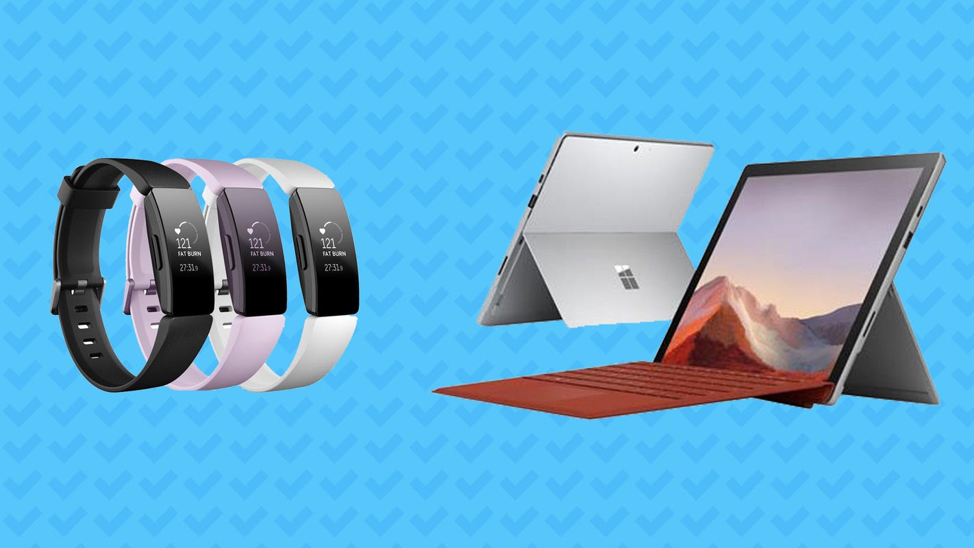 Best Amazon deals: Save on the Fitbit Inspire HR, Microsoft Surface Pro 7
