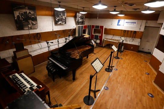 Studio A is seen Wednesday, July 15, 2020, in Detroit.