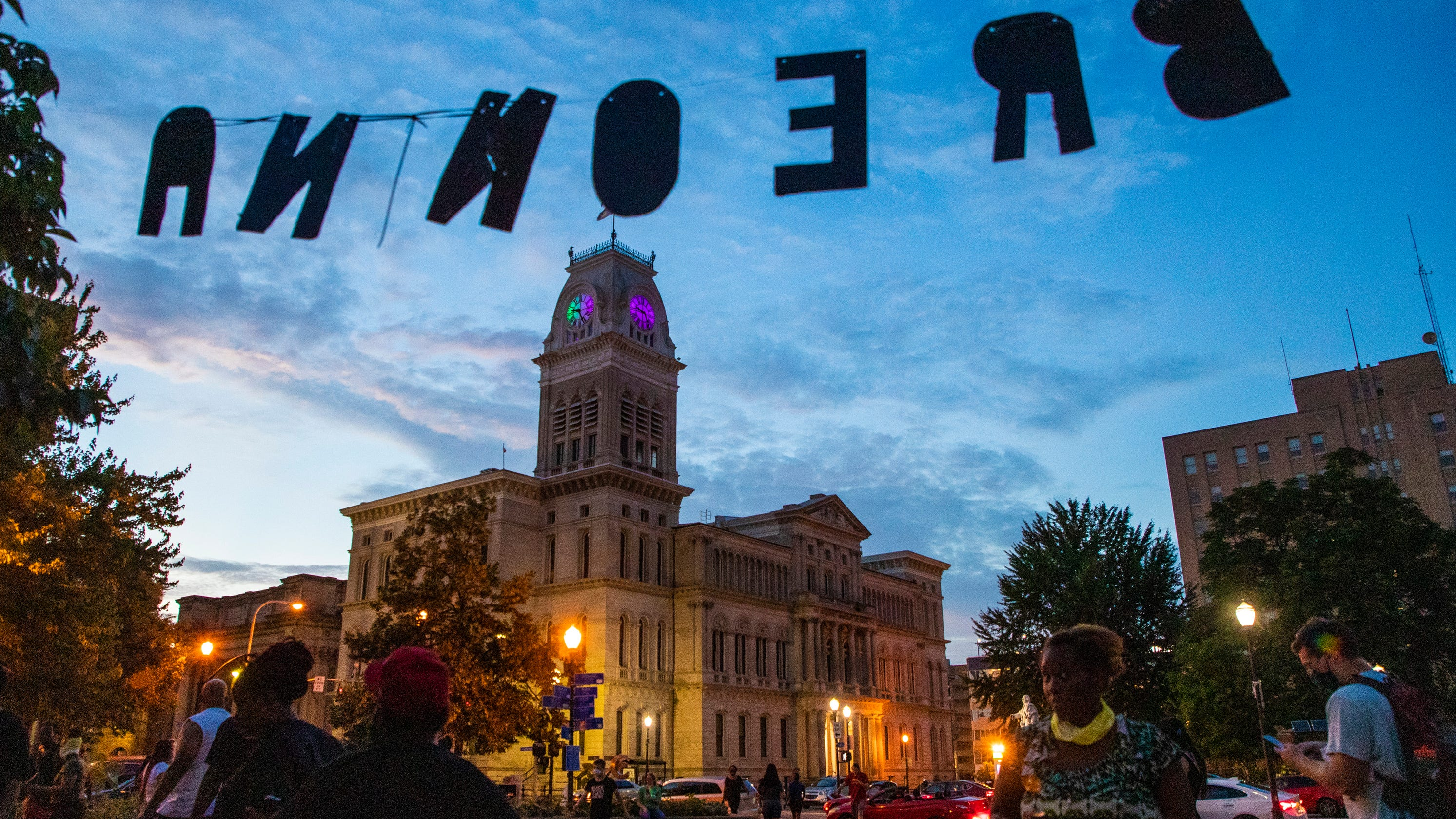 Louisville's protest movement is still applying pressure – no matter who tunes it out