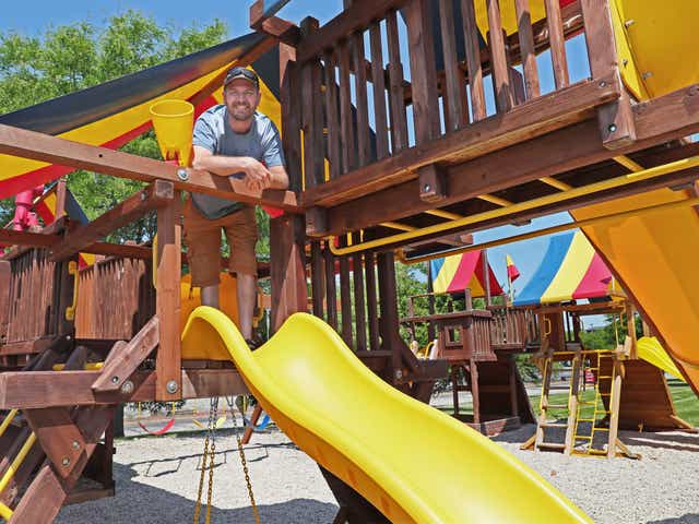 Backyard Playset Sales Boom As Parents Keep Kids Busy During Pandemic