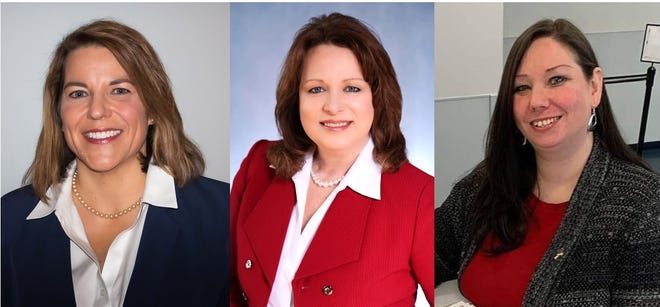 The three Republican candidates running in the Aug. 4 primary for the 19th district Michigan House of Representatives seat.