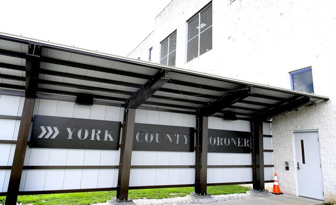 The York County Coroner's office has relocated to the York County Prison Complex Wednesday, July 15, 2020. The offices are located in a former ICE detention facility. Bill Kalina photo
